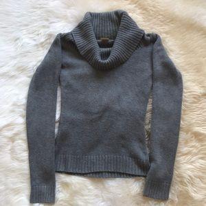 Michael Kors Heather Grey Cowl Neck Sweater